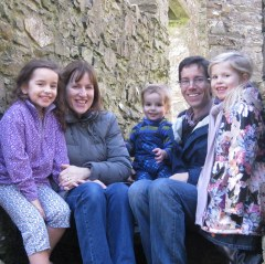 Smiles at Dundrum Castle